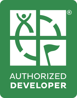 Autorized developer logo